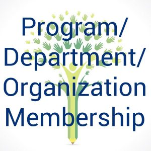 Program Department Organization Membership