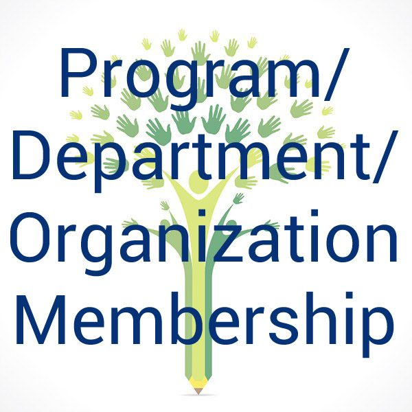 Program Department Organization Membership