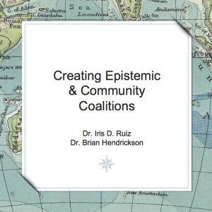 Creating Expistemic and Community Coalitions